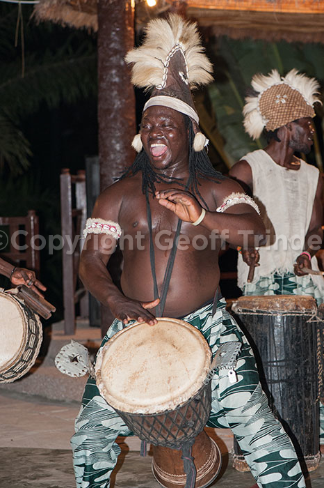 Drummer Gambia