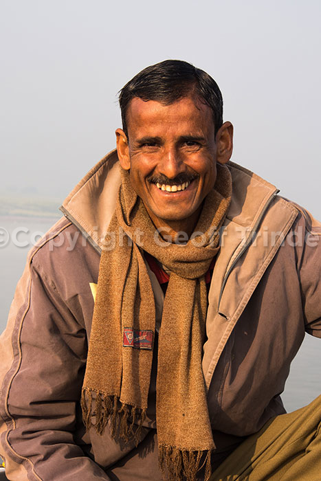 Indian Boatman