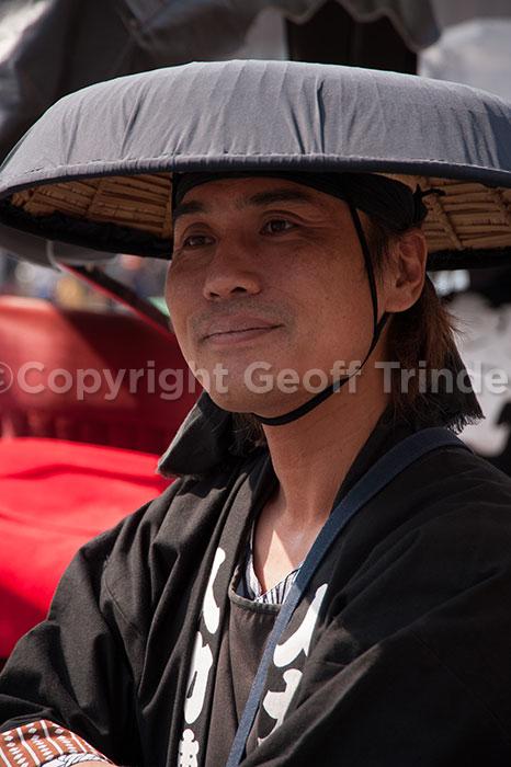 Japanese Rickshaw Man