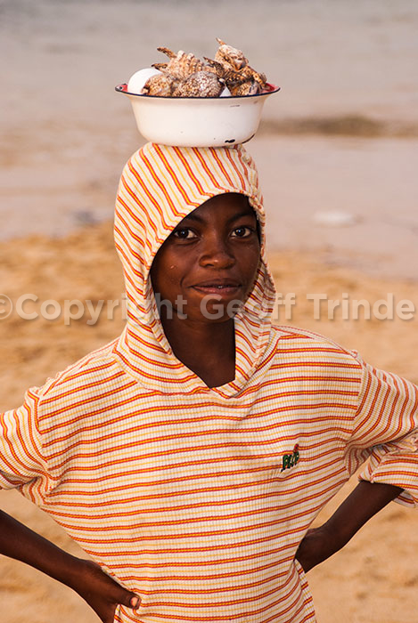 Sea Shell seller